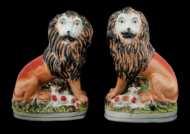 Lot 68: Staffordshire Lions