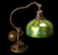 Lot 84: Signed Tiffany Desk Lamp