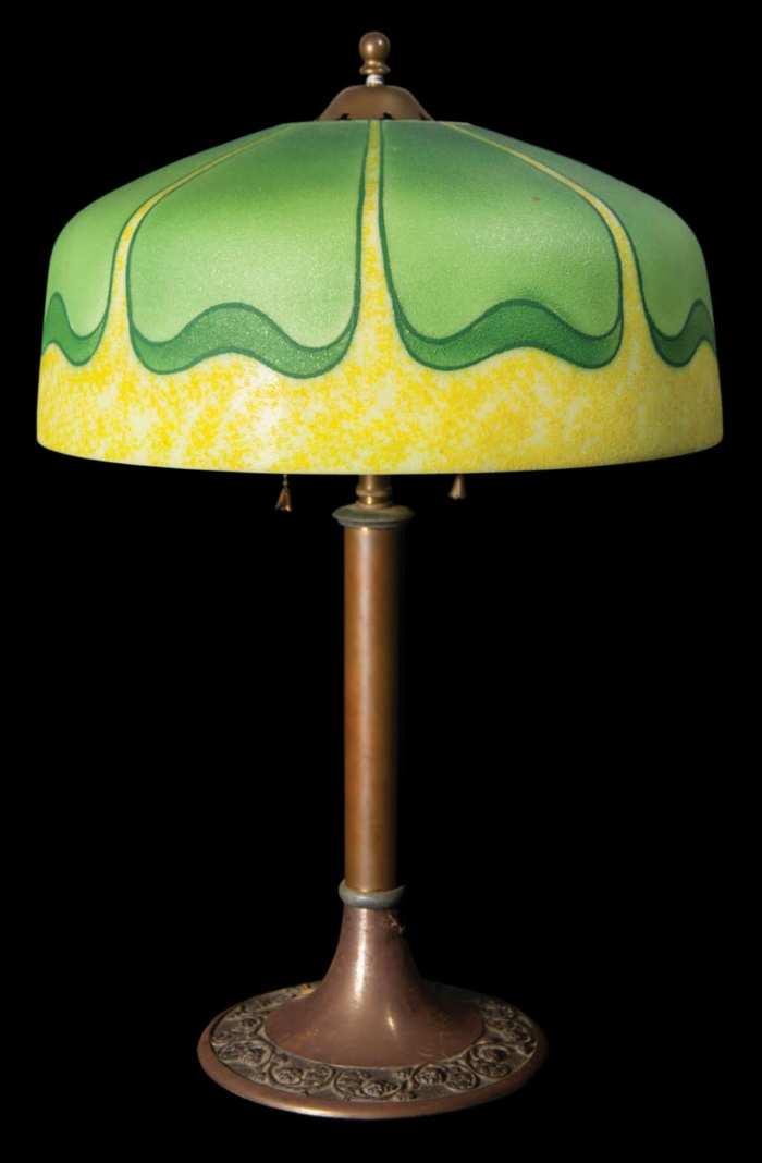 Lot 87: Art Nouveaux Table Lamp