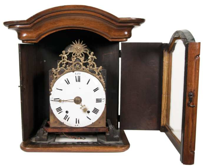 Lot 90: 18th c. French Tall Clock