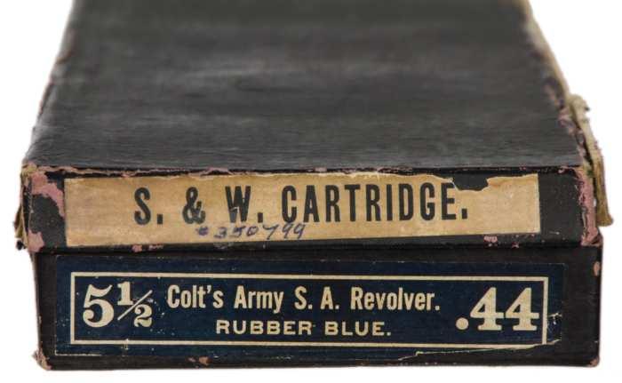 Lot 91A: Colt 44 Single Action Revolver