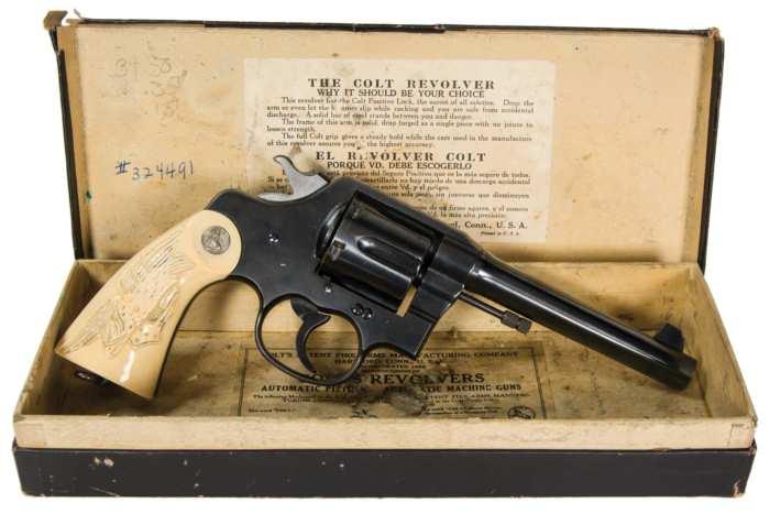 Lot 92B: Colt 45 Revolver