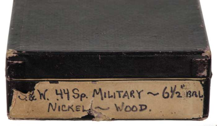 Lot 92: Smith & Wesson .44 Special Military