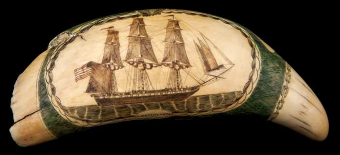 Lot 98: Antique 19th c. Whale's Tooth
