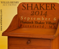Shaker Auction - Sept. 6th, 2014