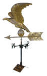 Lot 40: 19th C. Eagle Weathervane