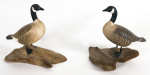 Lot 62: Canadian Geese Miniature Decoys