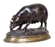 bronze, sculpture