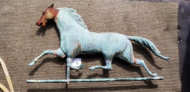 copper, horse, weathervane