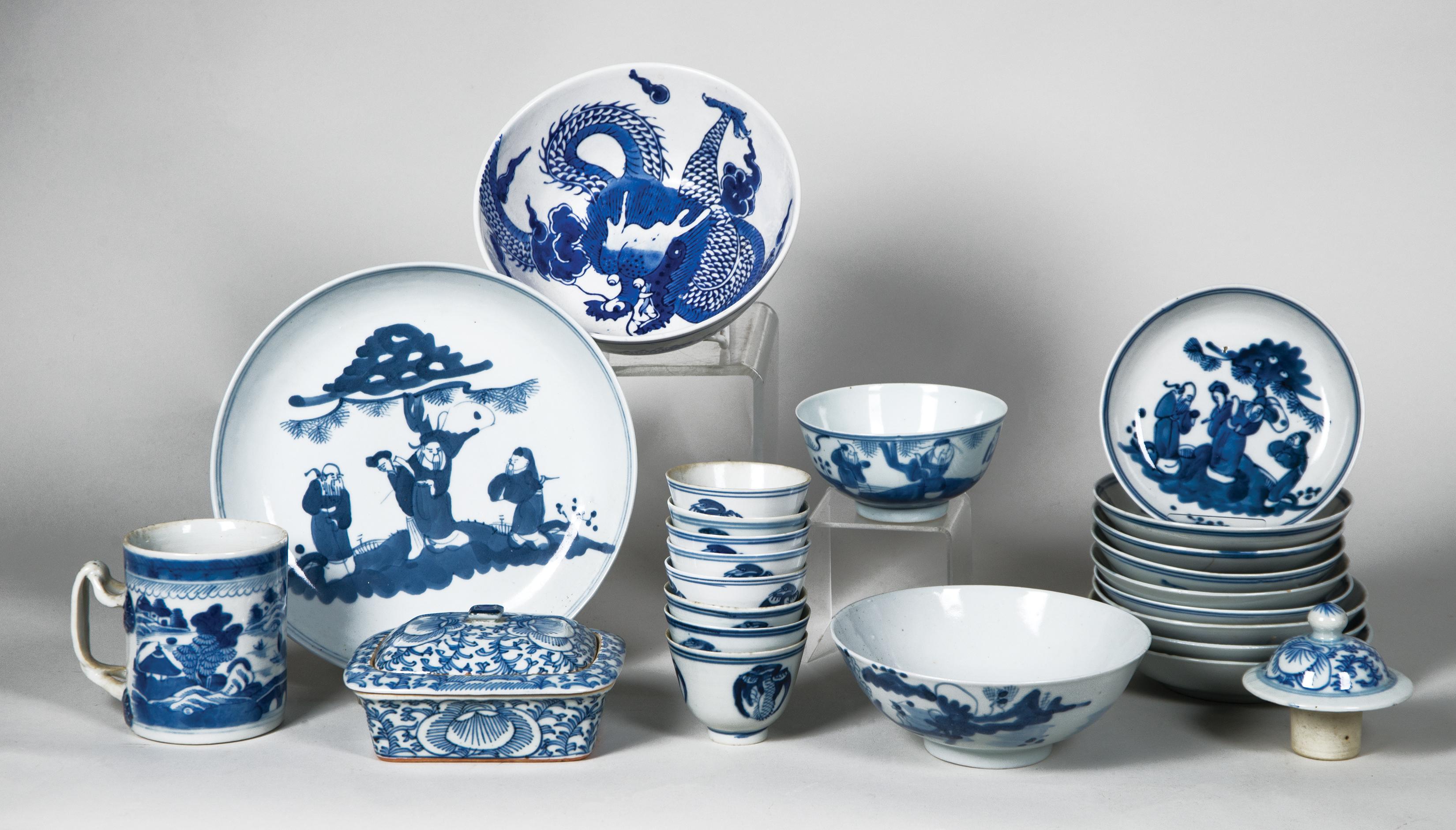 chinese, ceramic, mug, plate, bowl, saucer