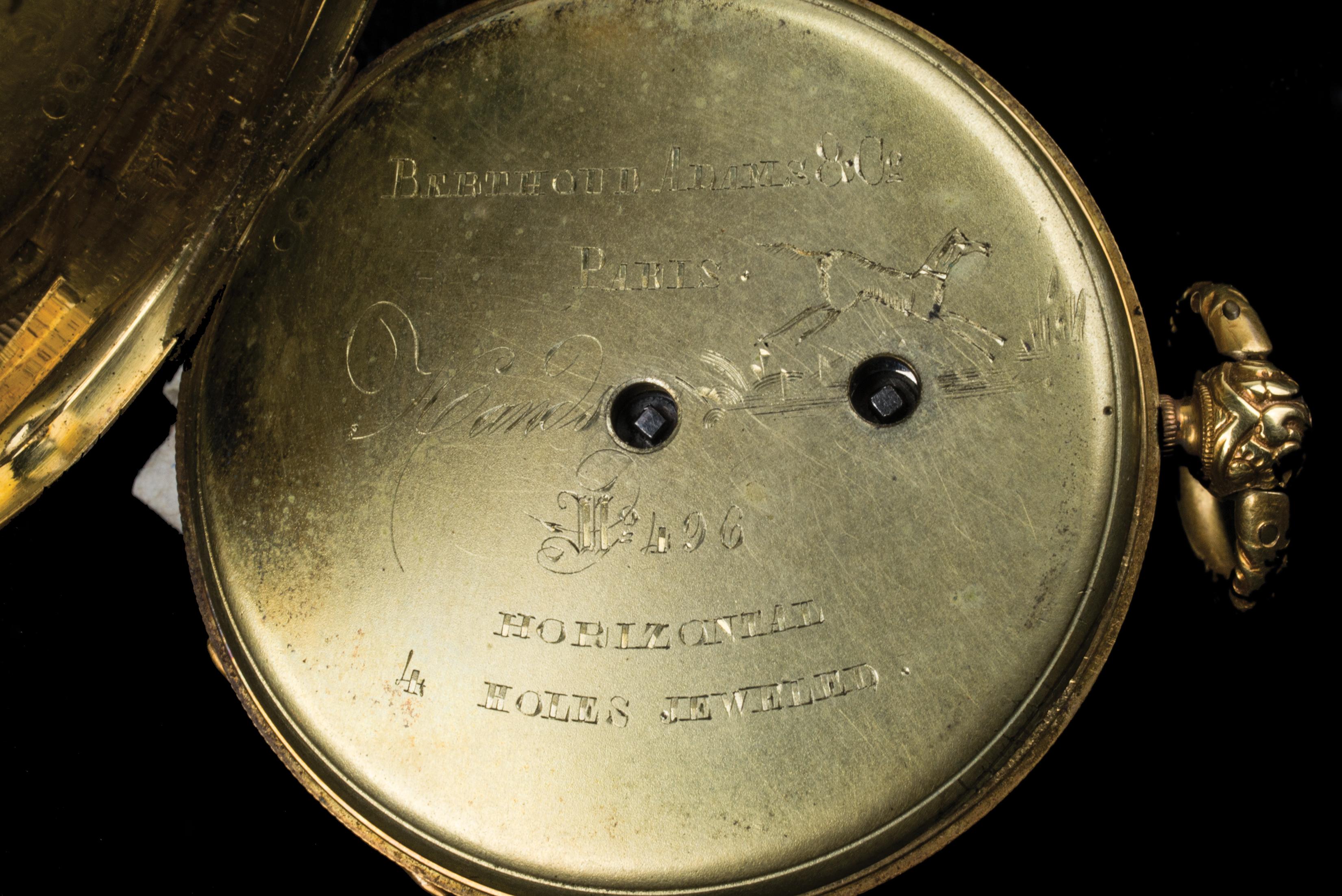 gentlemen's, pocket, watch, 14k, gold, waltham, hingham