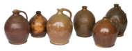redware, jars