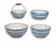 spongeware, bowls