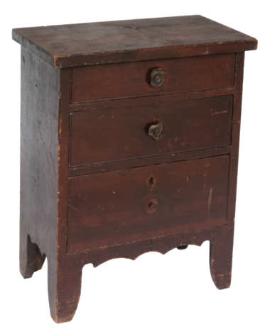 child's, desk, hepplewhite, pine