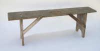 pine, bench