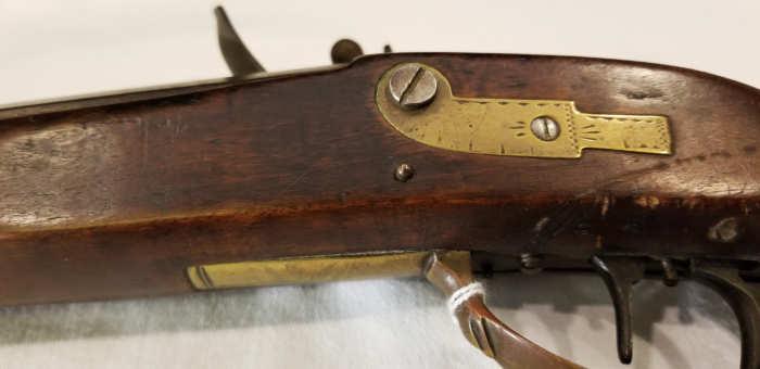 flintlock, long, maple, rifle, tiger