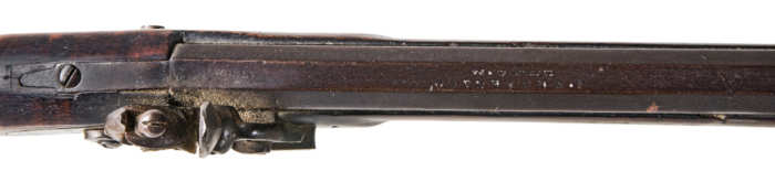 long, rifle, flintlock, tiger, maple