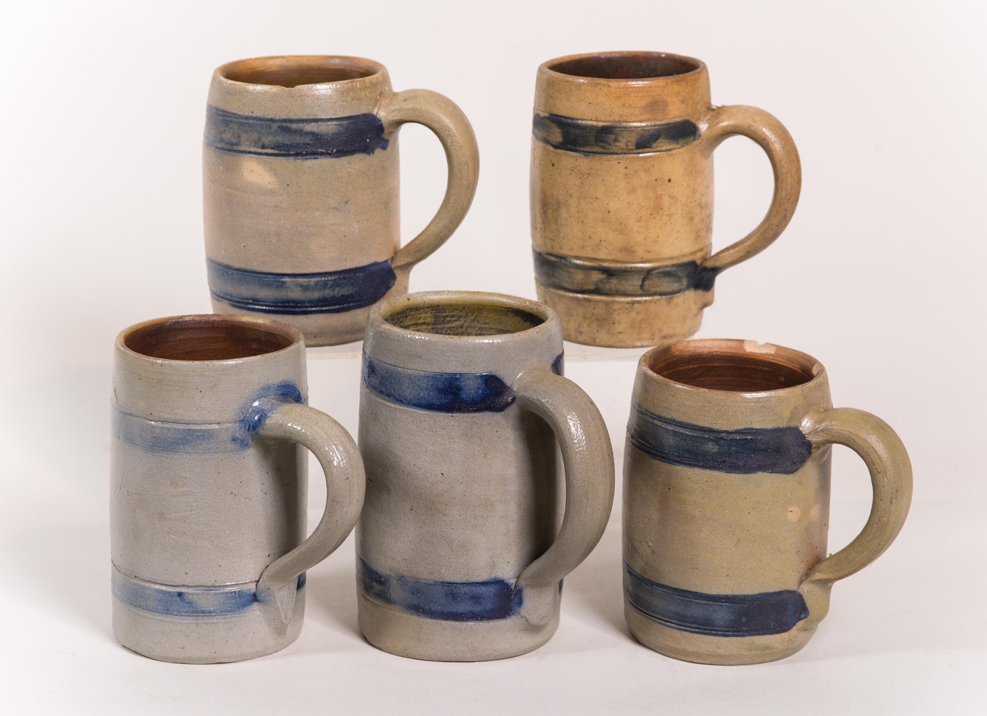 stoneware, mugs