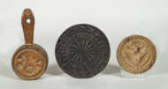 chip, carved, wood, prints, butter, molds