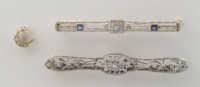 bar, pins, stick, white, gold, diamonds