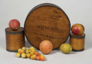 spice, chest, stone, fruit