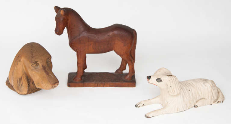 wood, carved, animals