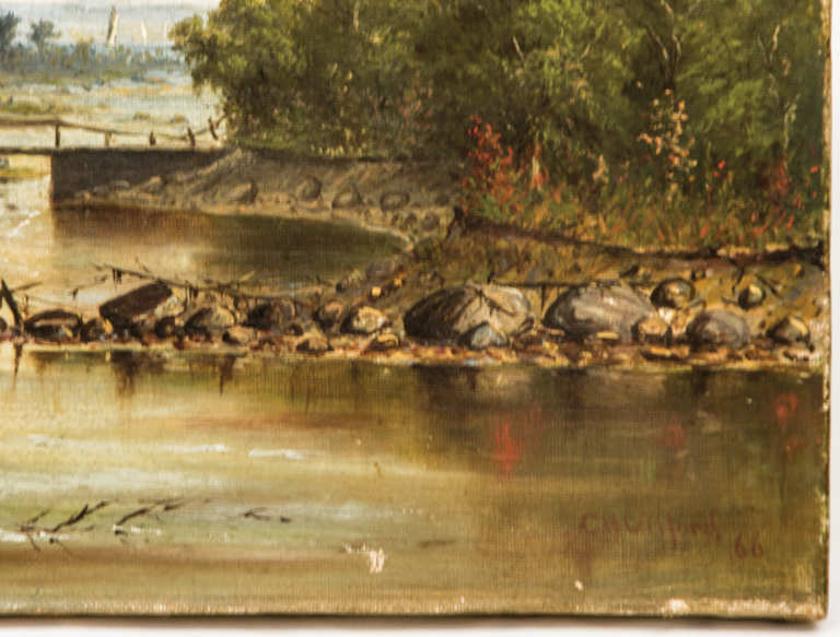 CH Gifford, oil, painting