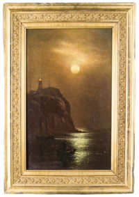 oil, painting, CH, gifford