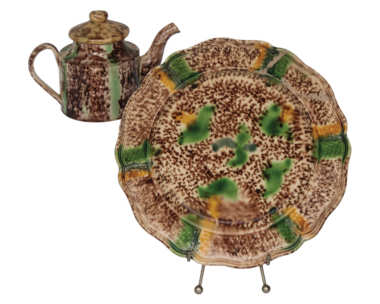 ceramic, teapots, plates, english