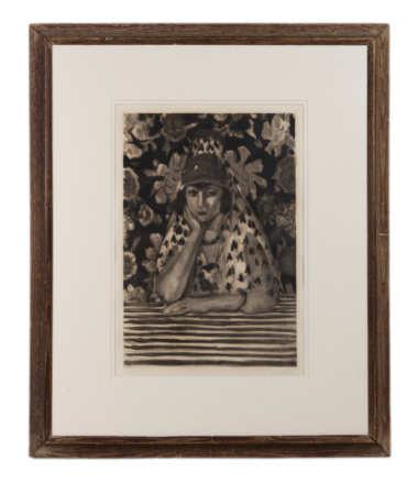 etching, jacques, villon