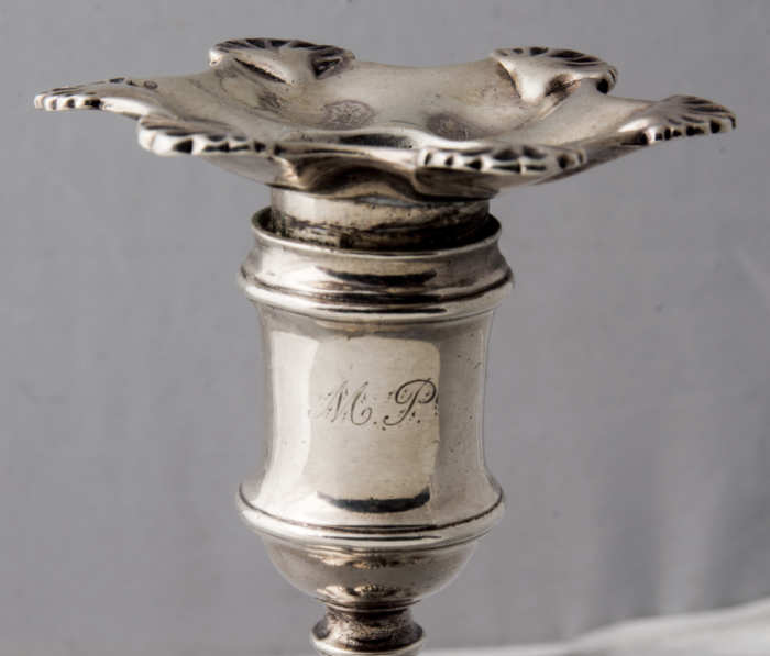 sterling, silver, candlesticks