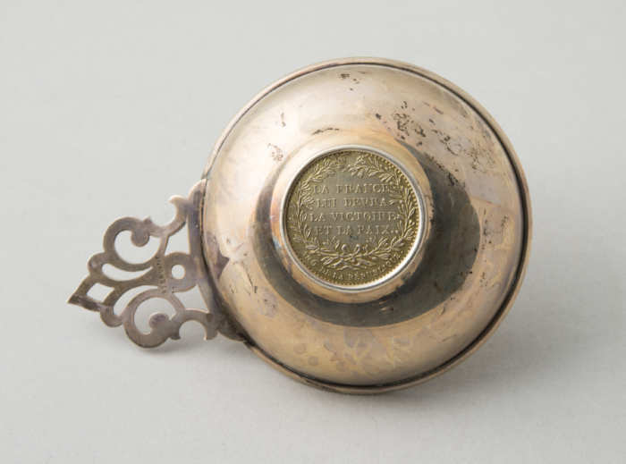 sterling, silver, porringer