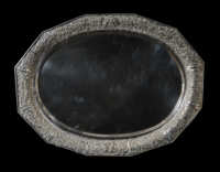 sterling, silver, oval, tray