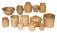 yelloware, ceramic, kitchenware