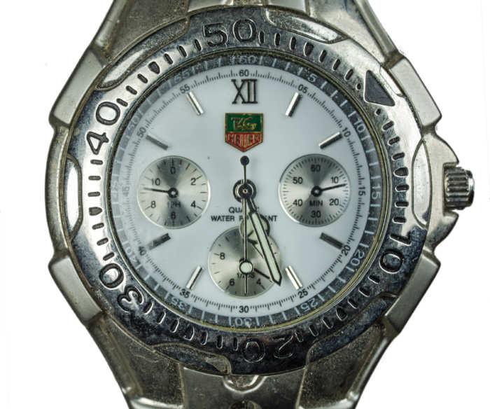 tag, heuer, wristwatch, swiss