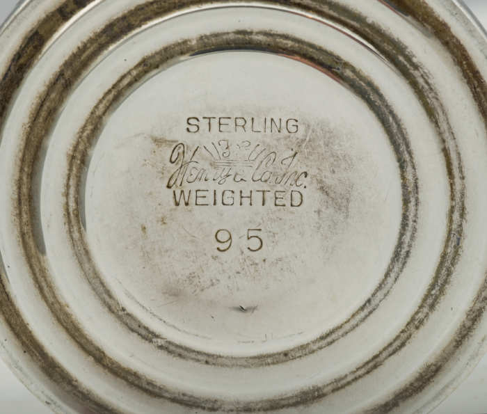 sterling, silver, cordials