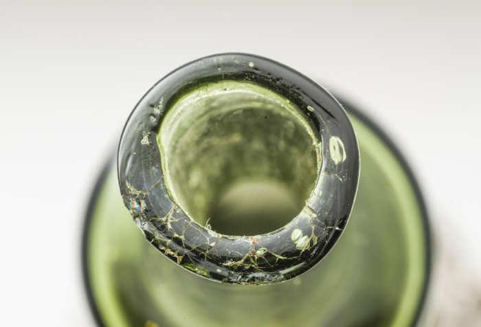 sterling, silver, glass, bottle, gorham