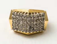 gold, ring, diamond