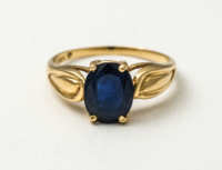 gold, ring, sapphires