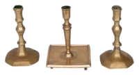 brass, candlesticks
