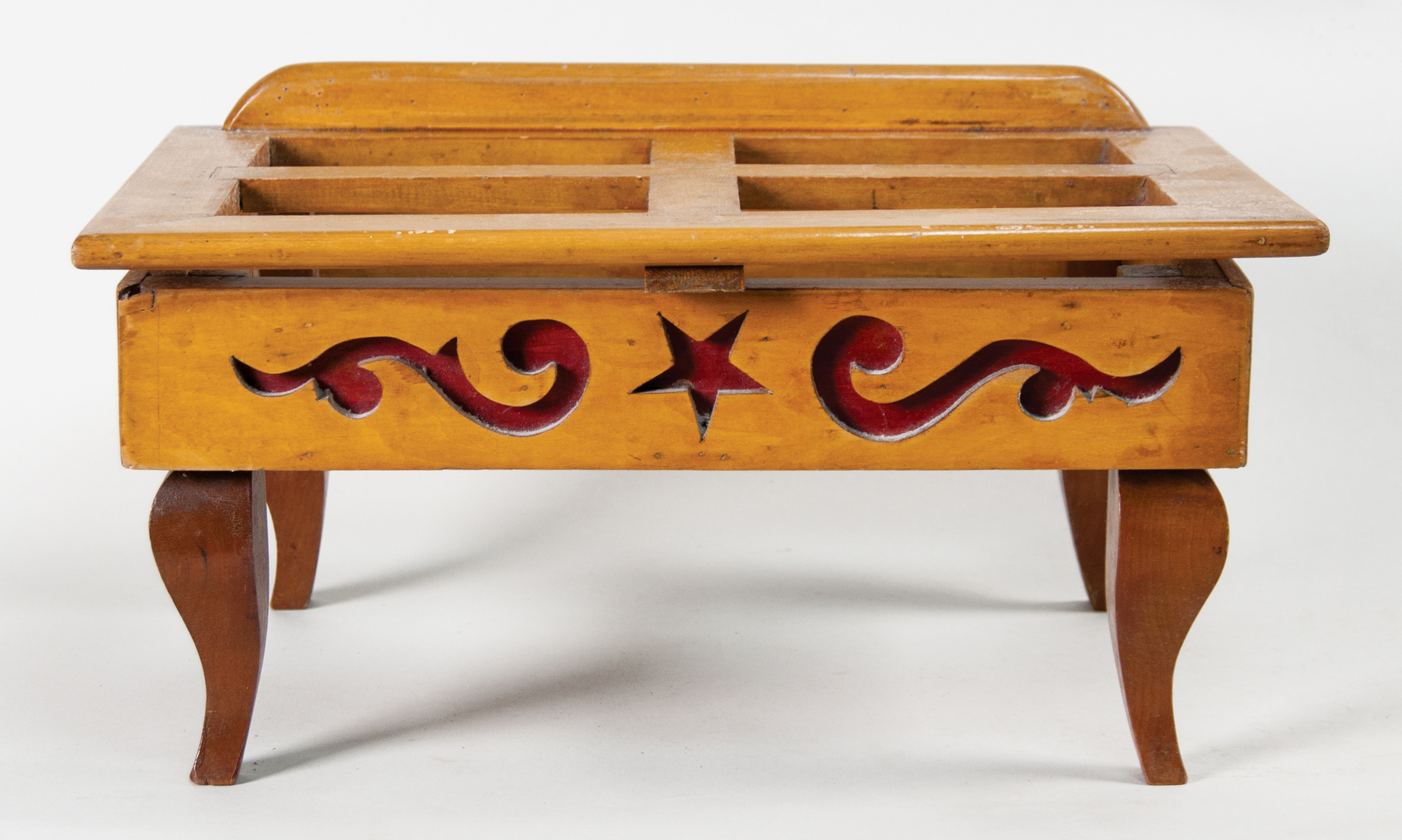 carved, table, top, lectern