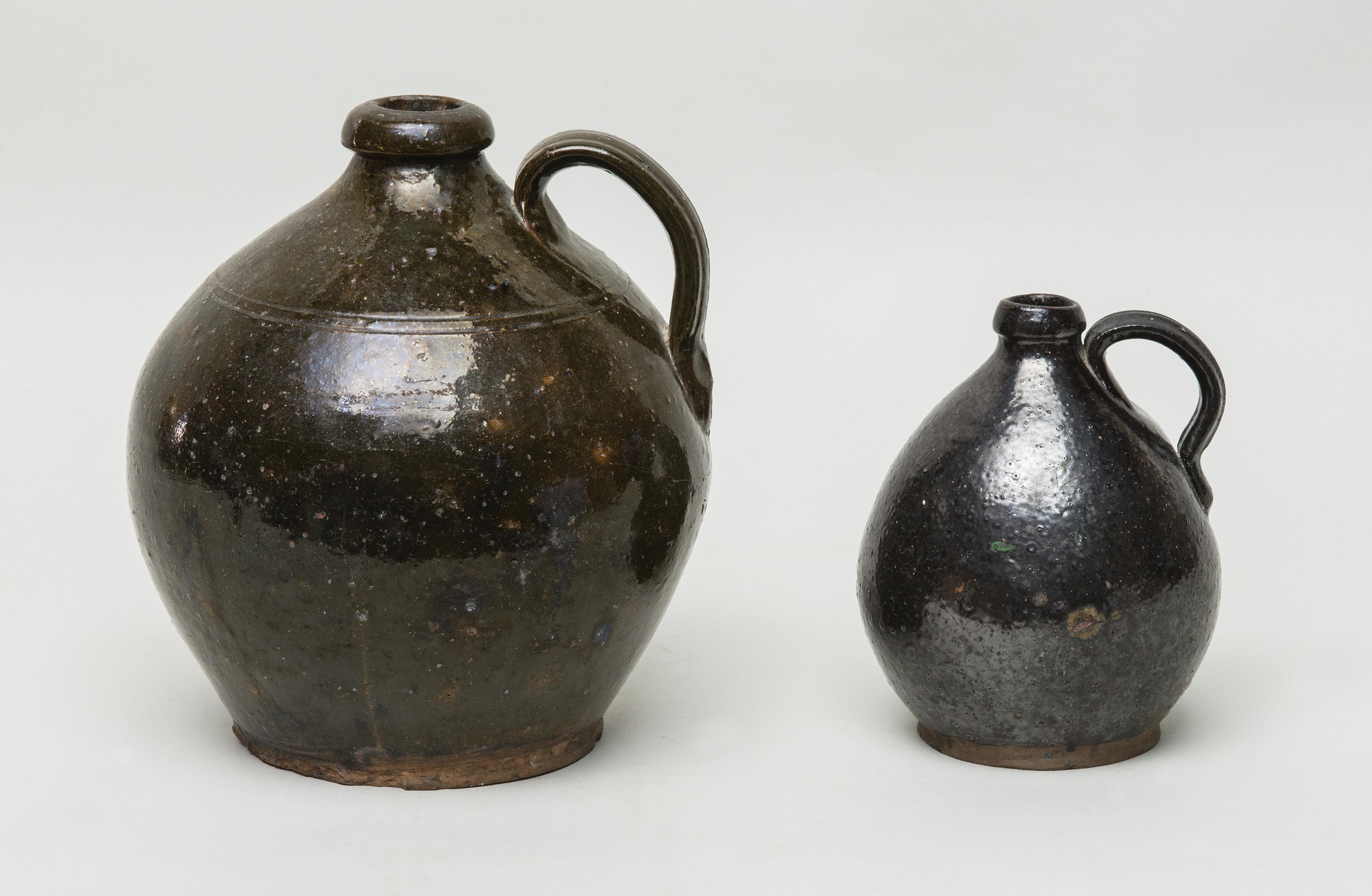 ovoid, redware, jugs