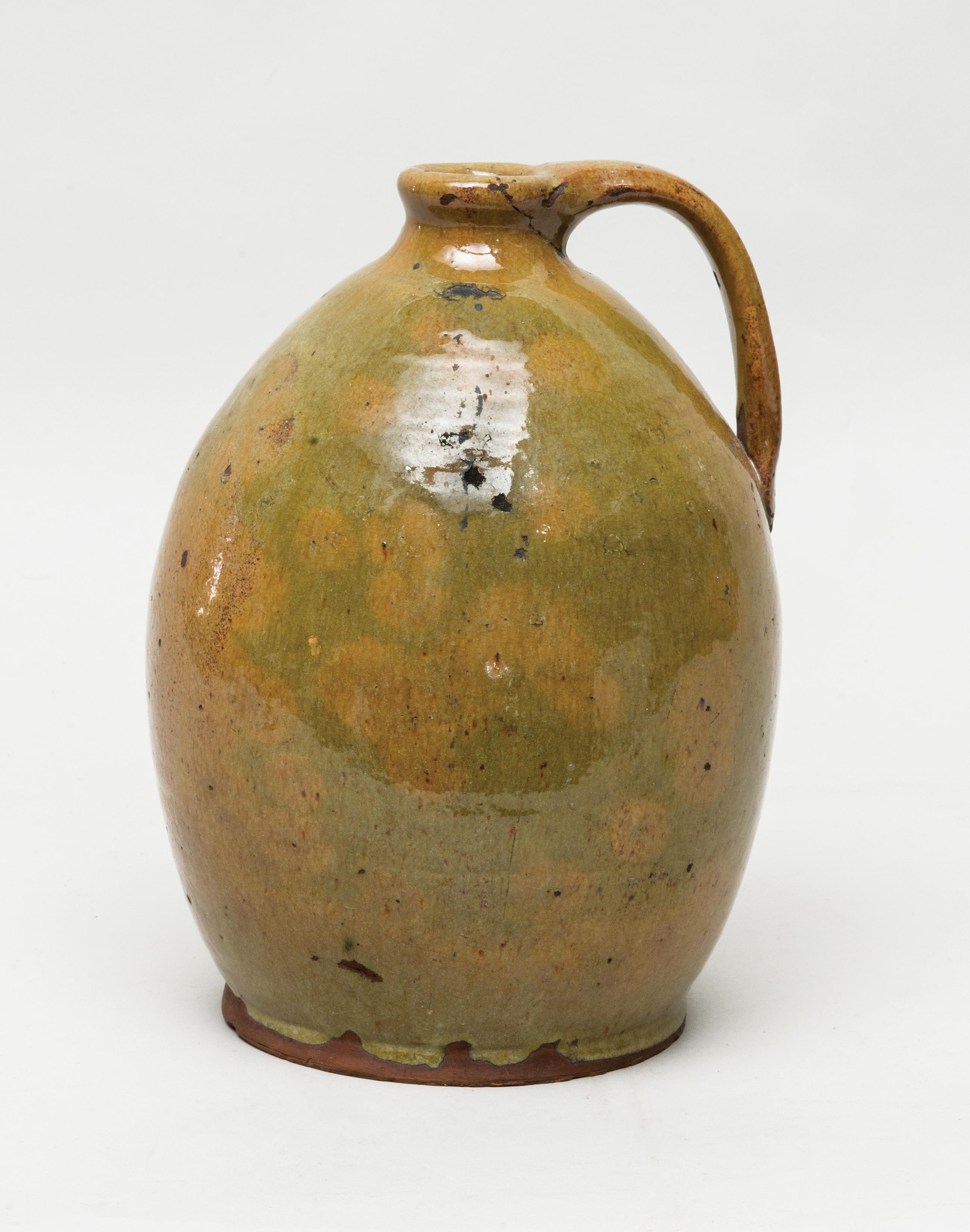 redware, jug