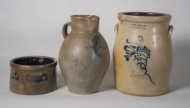 stoneware, crocks, jugs