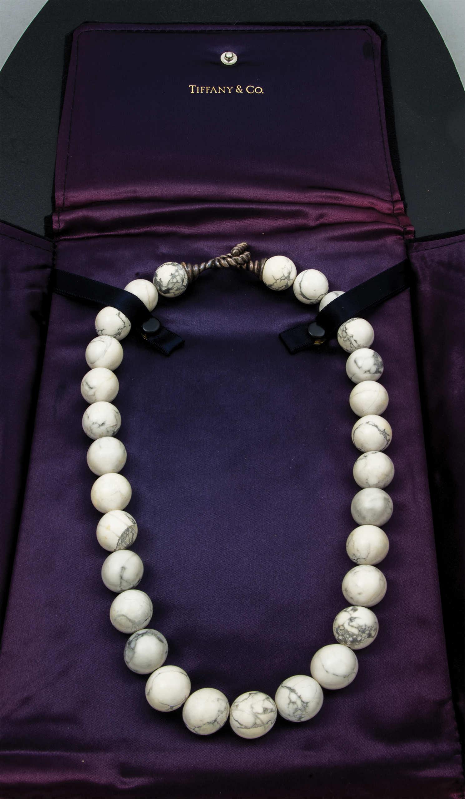 tiffany, necklace, jadite, beads