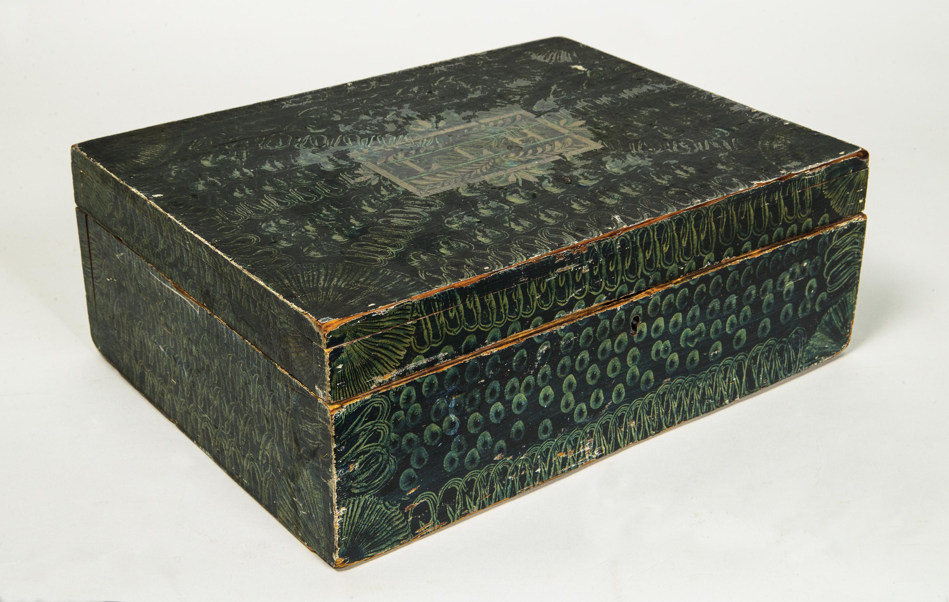pine, storage, box