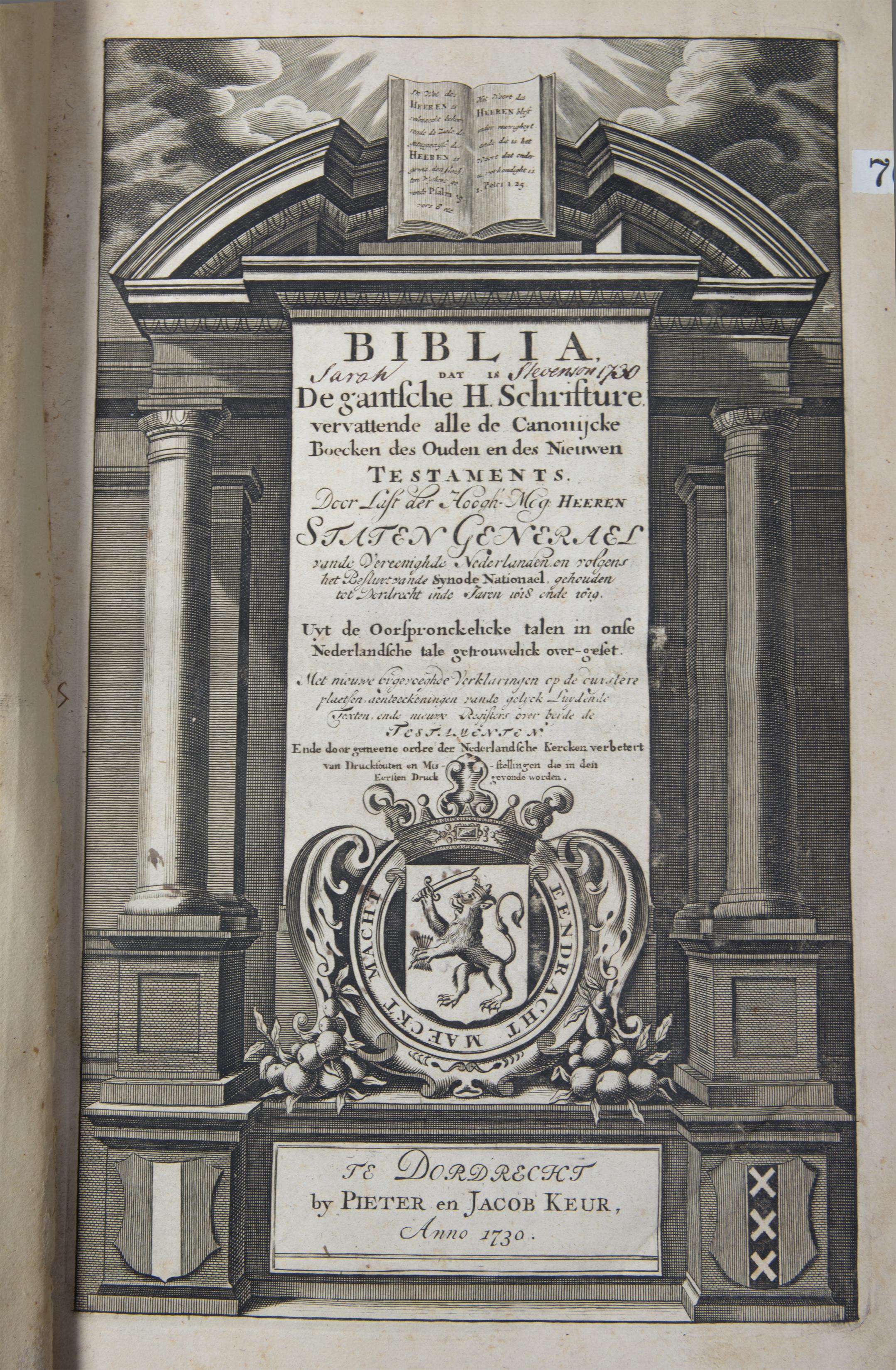 netherlands, bible