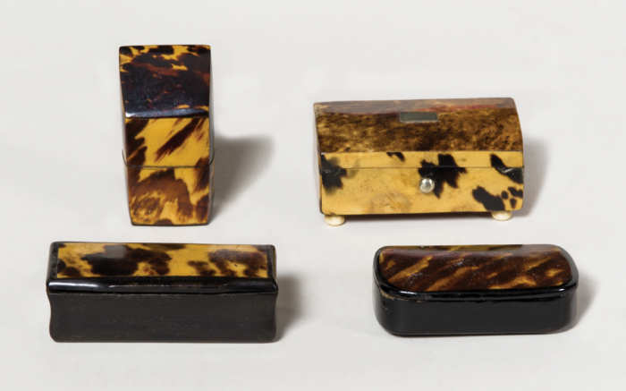 snuff, stamp, boxes