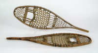 Pair Of Early 20th C. Child's Snow Shoes