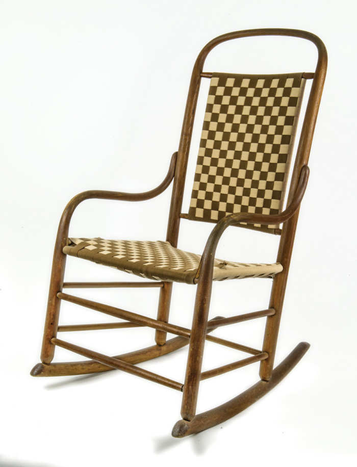 Shaker Style Bentwood Rocking Chair